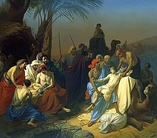 Brothers Sell Joseph into Slavery by Konstantin Flavitsky, high resolution images