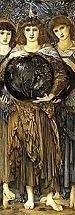 Edward Burne Jones Days of Creation, Day Three