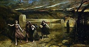 Burning of Sodom by Camille Corot, high resolution