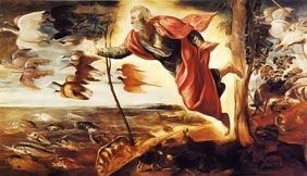 The Creation of the Animals by Tintoretto