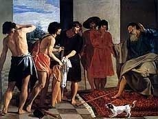 Jacob Receiving the Tunic of Joseph by Diego Velazquez, Royalty Free Images