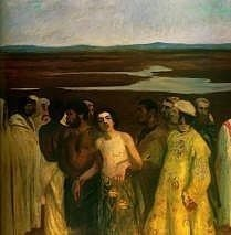 Joseph Being Sold into Slavery, Karoly Ferenczy
