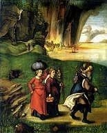 Lot and His Daughters by Albrecht Durer, Royalty Free Images