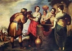 Rebecca and Eliezer by Murillo