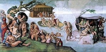 The Deluge Michelangelo Royalty Free Images