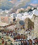 Taking of Jericho by James Tissot high resolution images