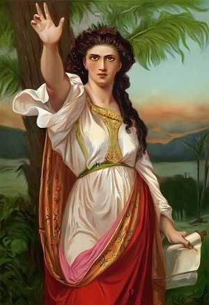 Deborah from the Bible painting by Charles Landelle