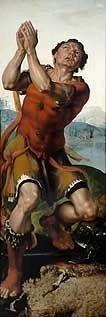 Gideon thanks God for Miracle of the Dew painting by Maarten van Heemskerck