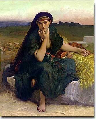 Ruth of the Bible by Alexandre Cabanel