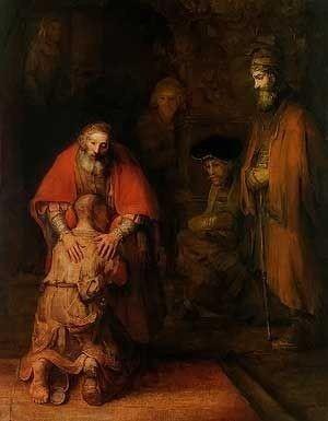 The Return of the Prodigal Son, Rembrandt van Rijn