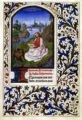 Huntington Hours, Saint John on Patmos