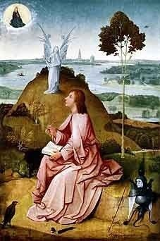 Hieronymus Bosch, Saint John the Evangelist on Patmos