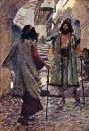 Saul Meets Samuel by James Tissot