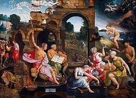 Saul Seeks the Witch of Endor by Jacob Cornelisz van Oostsanen