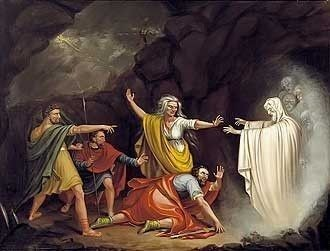 Saul and the Witch of Endor by William Sidney Mount