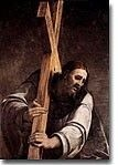 Christ Carrying the Cross to Calvary Royalty Free Images