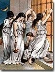Wise and Foolish Virgins high resolution Bible pictures