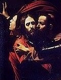 Judas Betrays Jesus with a Kiss Royalty Free Images